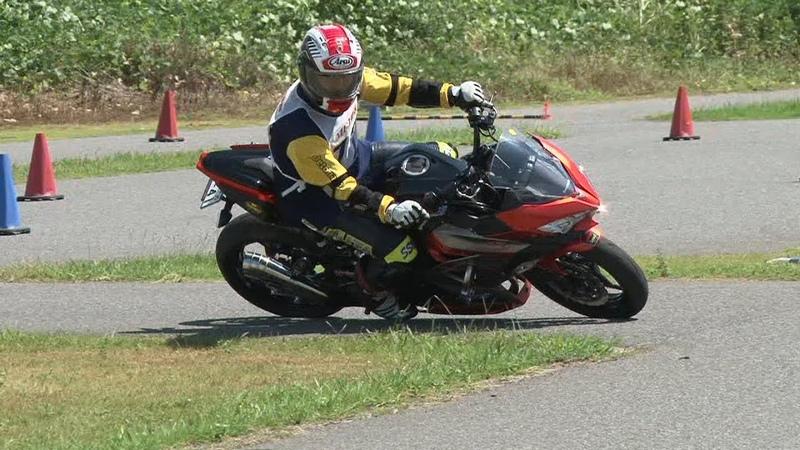 2018 9 2 Dunlop Ehime Moto Gymkhana King of Gymkhana Sakuta 選手 Ninja400 h 1 h 2 victory ride