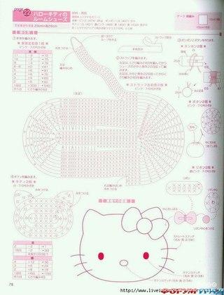 Вязаные тапочки Hello Kitty Девочка любого возраста обрадуется таким вязаным тапочкам крючком. .