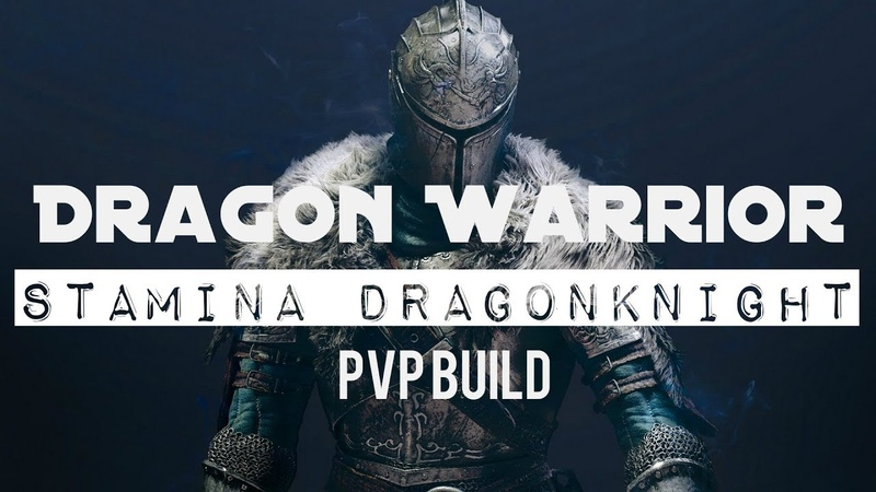 Stamina Dragonknight PVP Build - Dragon Warrior - ESO Summerset and Wolfhunter