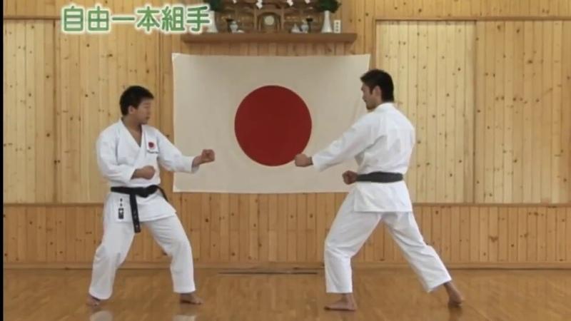 Jiyu - ippon kumite (自由一本組手) JKA