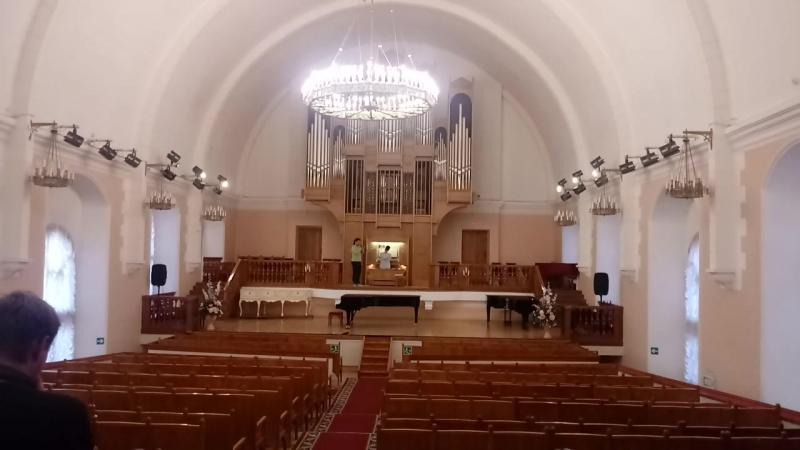 Argishty и Иван Ипатов (репетиция в Кирхе)