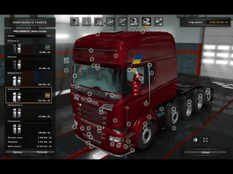 [ETS2]Euro Truck Simulator 2 Scania R od RJL (1.31.1)