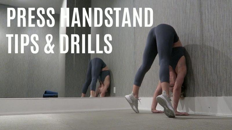 PRESS HANDSTAND TIPS DRILLS