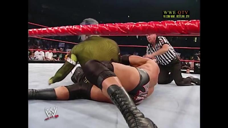 [WWE QTV]☆[WWE RAW[Фоменко]16.09.02]Triple H vs Jeff Hardy]Трипл Ейч против Джеффа Харди]