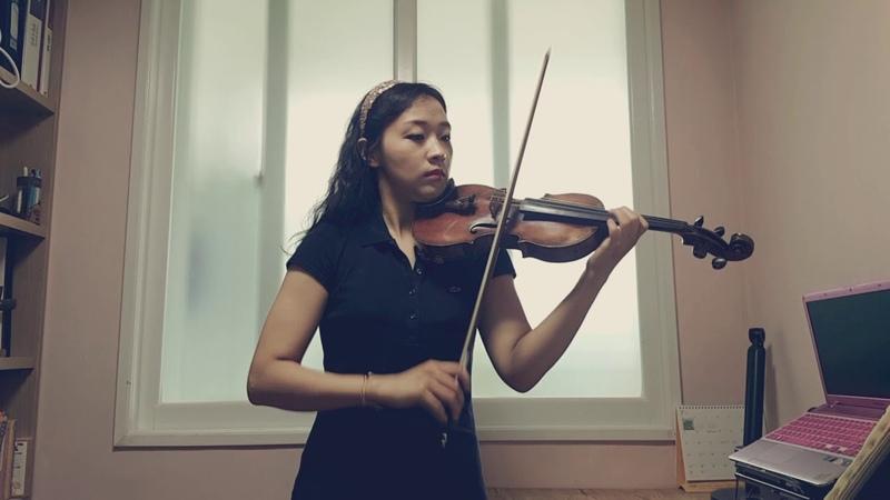스즈키 10권 모차르트 협주곡 4번 레터G 이전까지 숙제- 바이올린 김민정