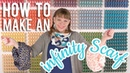 How to Sew an Infinity Scarf | Double Gauze Embrace | Fat Quarter Shop