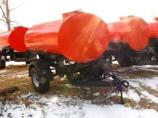 Красивая и качественная цистерна с рессорами для трактора МТЗ. ООО