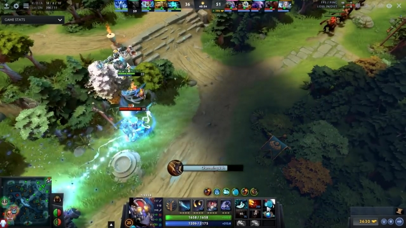 Funkefal Best Tinker Spammer on Dotabuff Road to TOP-10 with Tinker - Dota 2