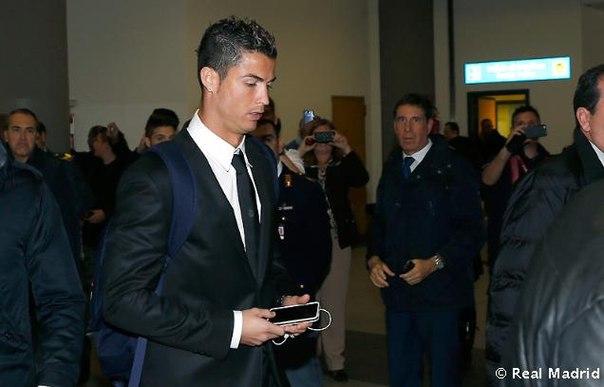 Реал Мадрид уже в Турине  04.11.13 