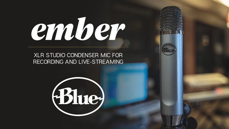 Introducing Ember - XLR Studio Condenser Mic for Recording and Live-streaming