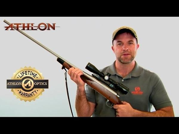 Athlon Optics Talos Rifle Scope Family - Athlon Lifetime Warranty