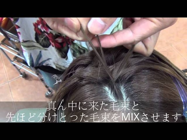 改訂版 簡単 コーンロウのやり方 let,s try !!easy to cornrow hair arrangement