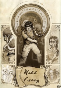 Книга пыли. Прекрасная дикарка (fb2)   куллиб классная.