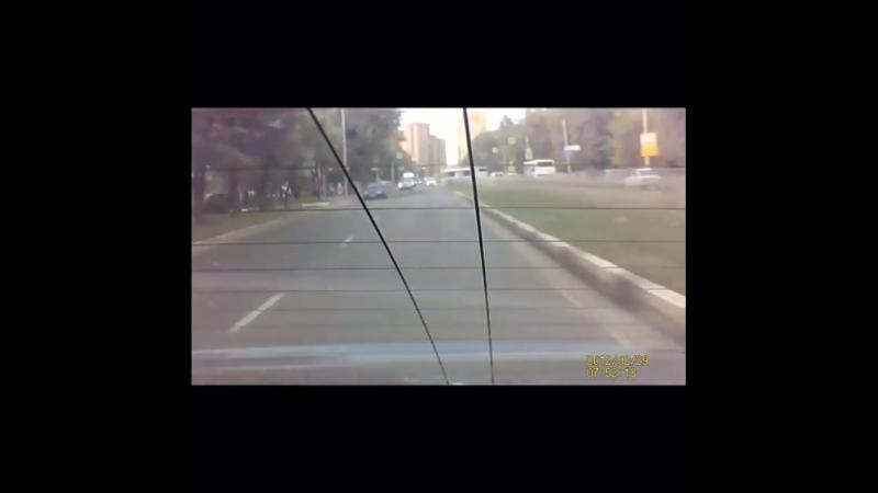 На улице Черновицкой в Рязани на автомобиль упала крупная ветка. Видео инцидента размещено на YouTube во вторник, 7 августа.  Ка