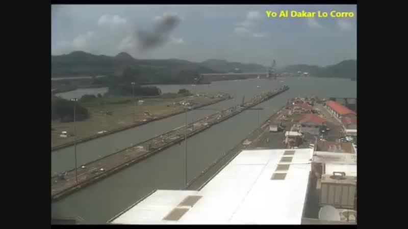 Панамский канал. Dakar2019