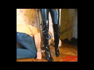 Boot-fetish лизать грязные сапоги