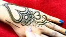 New Stylish Heart-Jewellery Mehndi Design for Hands |Thought of Creation