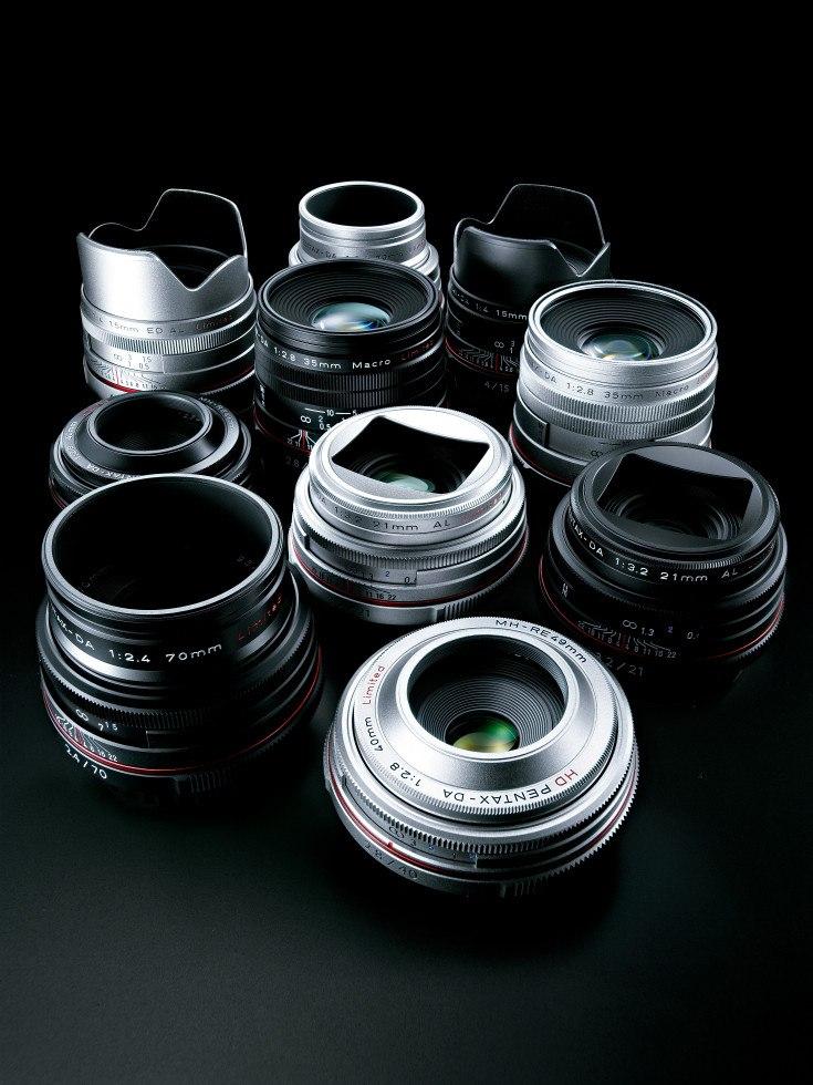 HD Pentax объективы фото