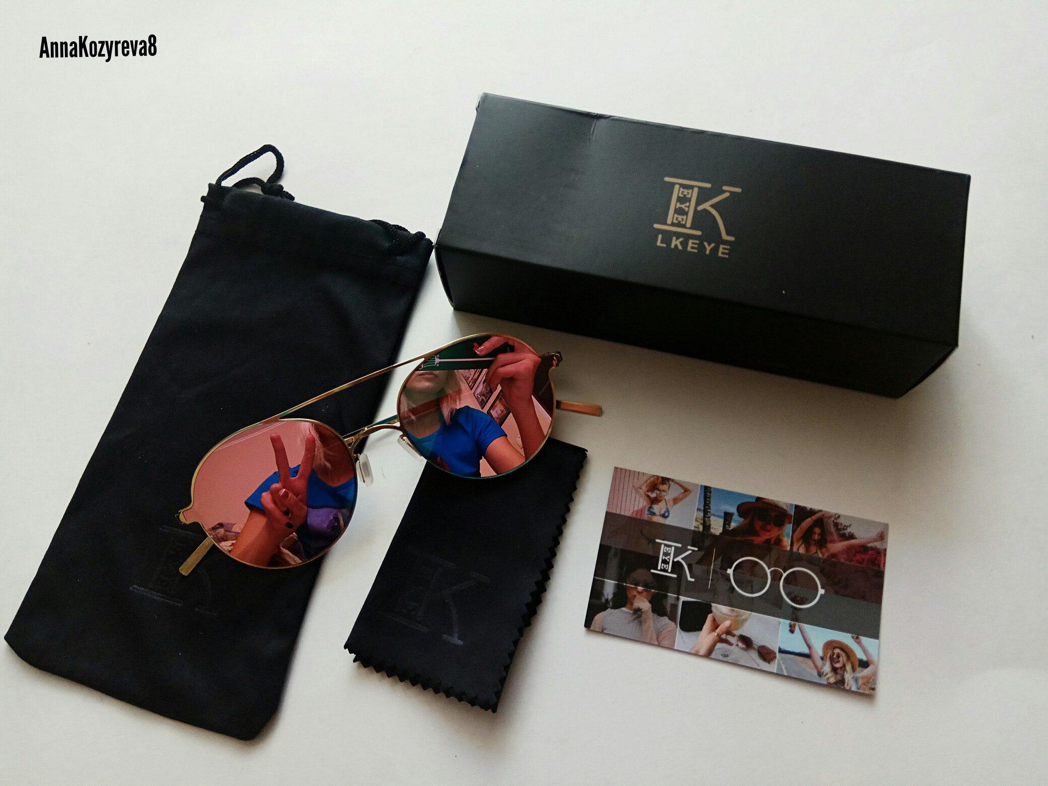 Офигенные зеркальные очки бренда LKEYE