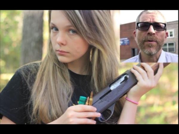 Teen Girl Debunks Reporters Claims Of PTSD From Gun