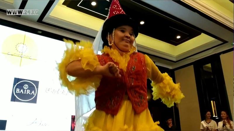 Благотворительный показ моды в Бишкеке