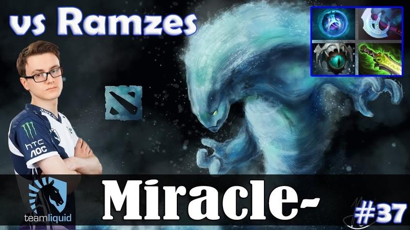 Miracle - Morphling MID | vs Ramzes (Spectre) | Dota 2 Pro MMR Gameplay 37