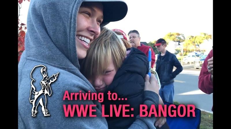 Ronda on the Road… to WWE Live Bangor