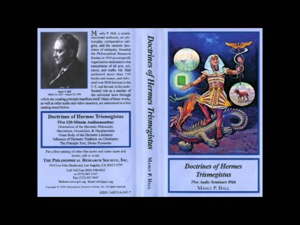 Hermetism, Gnosticism, Neoplatonism • Manly P. Hall