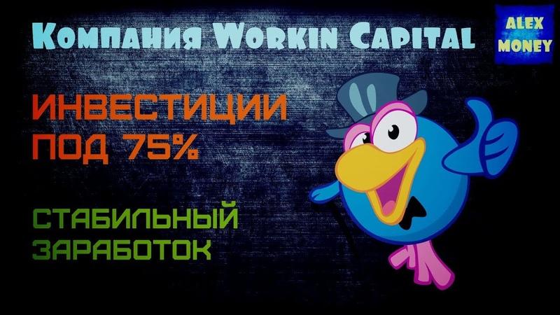 Workin Capital Сайт для стабильного заработка, Рабочий Админ! Как заработать в интернете