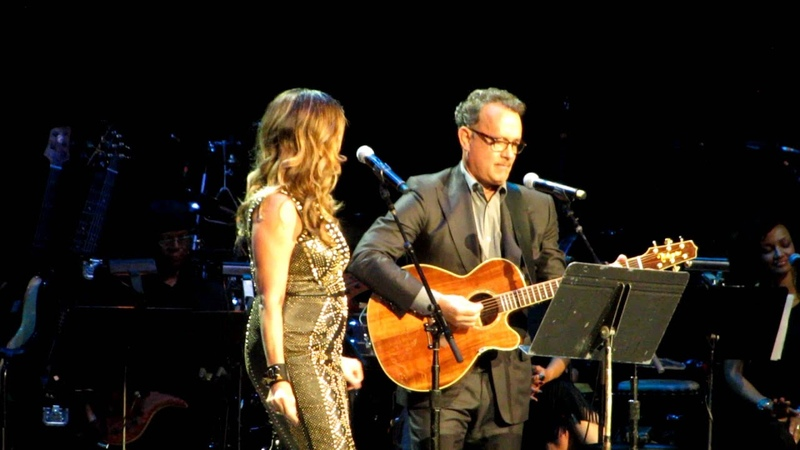 Rita Wilson Tom Hanks at Children's Health Benefit Concert Radio City Music Hall 10-4-12
