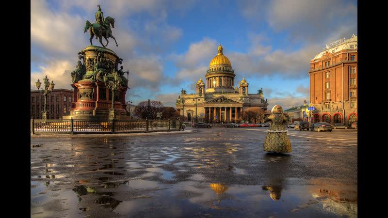 Видео Весна откладывается! Петербург засыпало апрельским сне