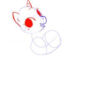 Как рисовать Пони (Дружба это Чудо) Урок рисования