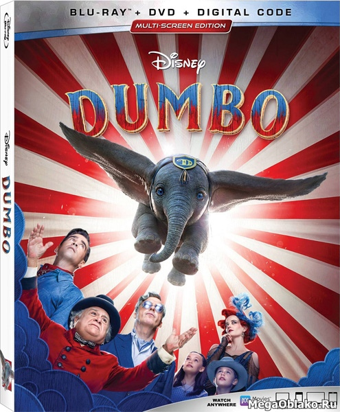 Дамбо / Dumbo (2019/BDRip/HDRip)