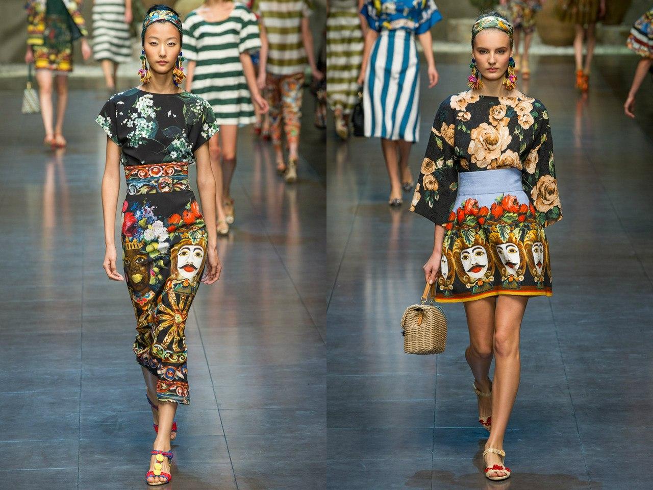 Dolce & Gabbana, весна-лето 2013