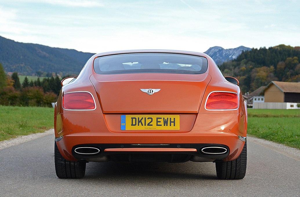 Задние фонари Bentley