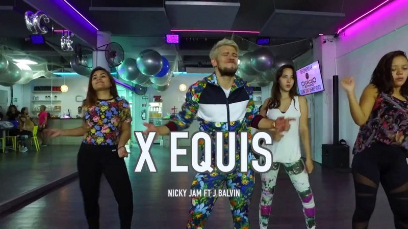 X (Equis) - Nicky Jam ft J Balvin / Coreo by Cesar James Zumba Cardio Extremo Cancun