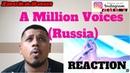 Polina Gagarina A Million Voices Russia LIVE at Eurovision 2015 Semi Final 1 reaction REACTION