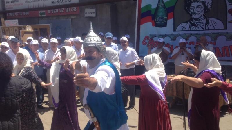 Праздник ШАРВИЛИ майдан Сулейман-Стальского района