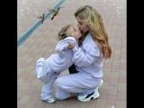 Лера Туманова с дочкой