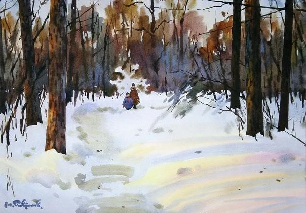 Модест Гаврилов  замечательный современный художник
