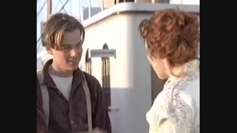 Отрывок из Титаника (Джек - Акира Исида, Роза - Тома Юми)