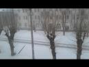 Снег 22 04 18 после тепла Пермь
