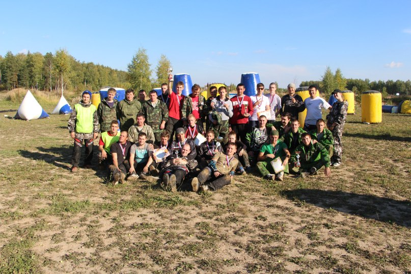 пейнтбольный клуб Патриот - игра в пейнтбол в Иваново