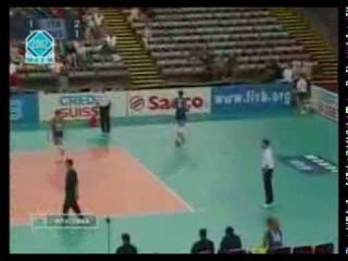 Чемпионат мира по волейболу 2002, Германия, второй групповой этап, Россия-Италия, 3-2, 3 место