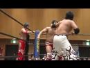 Daiki Shimomura Nobuhiro Shimatani Koju Takeda vs Katsumi Oribe Yuki Aoki Yuto Kikuchi DDT DNA 46