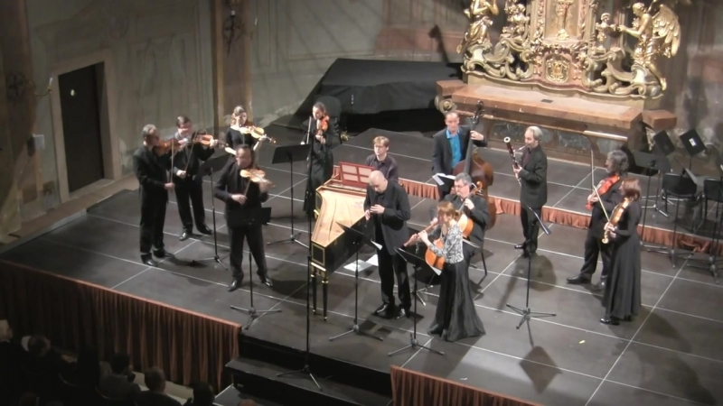 1049 J. S. Bach - Brandenburg Concert in G Major n. 4, BWV 1049 - Capella da Camera Praga