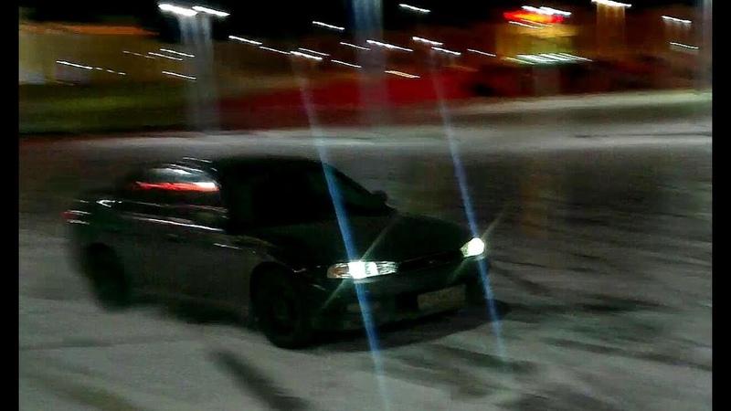 Ice Drift Subaru Legacy BD 2.5GX. Archive 2014.