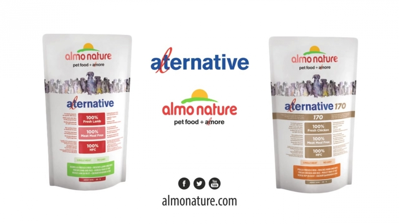 Alternative 100% HFC dry food for dogs