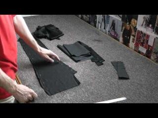 Крой и пошив платья-футляр с запахом. мастер класс по пошиву платья видео по...