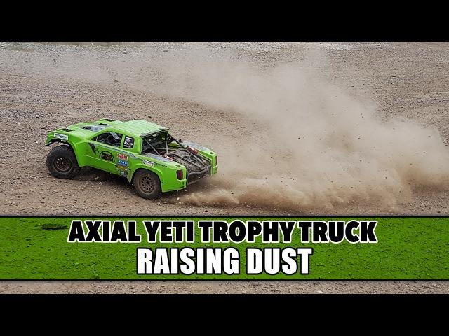 Axial Yeti Score Trophy Truck - Raising Dust